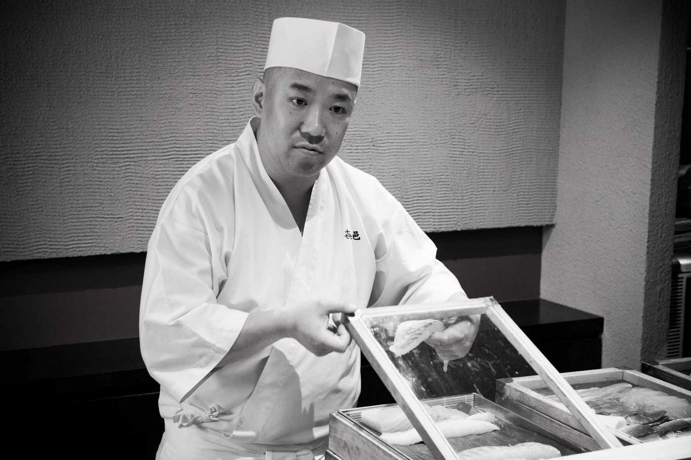 Koji Kimura (Restaurante Kimura, Tokio)